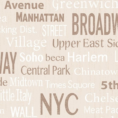 Duka Duvar Kağıdı Freedom Broadway DK.14233-1 (16,2 m2) Renkli